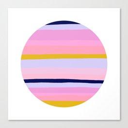 Ojai, california sunset Canvas Print