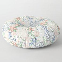 Caladenia Floor Pillow
