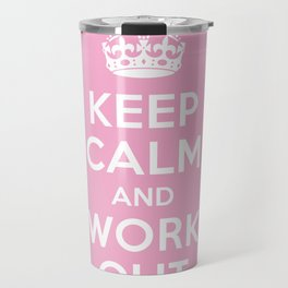 Keep Calm Travel Mug