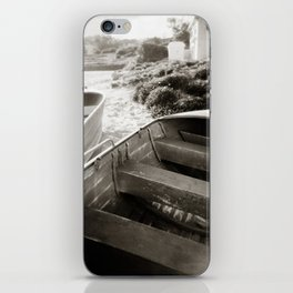{ afternoon boats } iPhone Skin