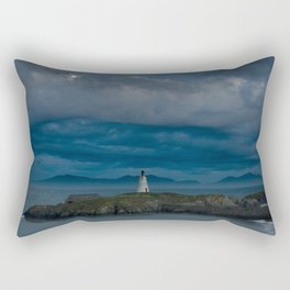 Twr Bach lighthouse 1 Rectangular Pillow