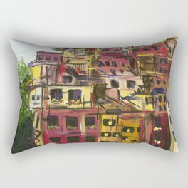 Cinque Terre Rectangular Pillow