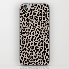 Tan Leopard iPhone Skin
