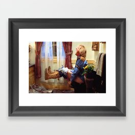 Dumb and Dumber Movie Poster - Harry Dunne Print - Funny Bathroom, Comedy Framed Art Print