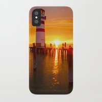 lighthouse iPhone & iPod Cases featuring lighthouse by Photoplace