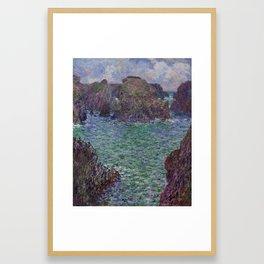 Port-Goulphar, Belle-Île Framed Art Print