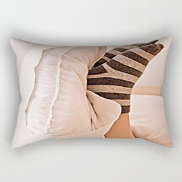 Pies en domingo. Rectangular Pillow