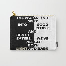 Good People and Death Eaters Carry-All Pouch