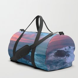 Sunset on the Bay of Biscay Duffle Bag