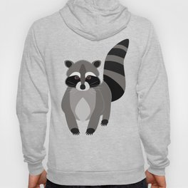 Raccoon in the Night Hoody