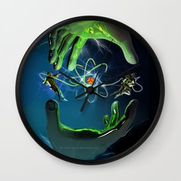 The Atom Control Wall Clock