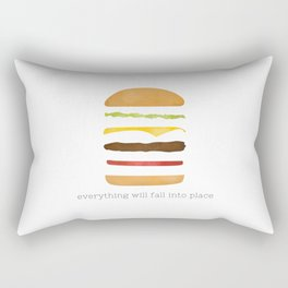 Everything Will Fall into Place Rectangular Pillow