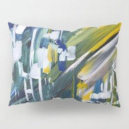 Green Blue Yellow Abstract 1 Pillow Sham