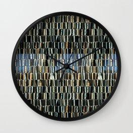 Brown & Black pattern Wall Clock