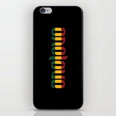 One Love Ambigram  iPhone & iPod Skin