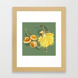 Pineapple Tart Framed Art Print