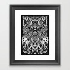 Barong Bali Framed Art Print