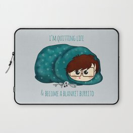blanket burrito /Agat/ Laptop Sleeve