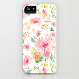 All the Peonies iPhone Case