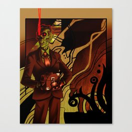 Skullsecrets Canvas Print