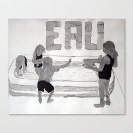 Agua - Eau - Water Canvas Print