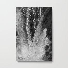Waterfall Snapshot Metal Print