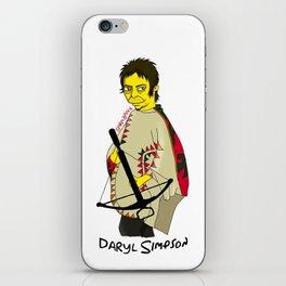 Daryl Simpson iPhone Skin