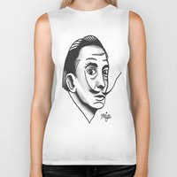 dali Biker Tanks featuring Dali by @VEIGATATTOOER