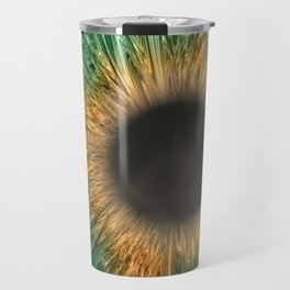 The Green Iris Travel Mug