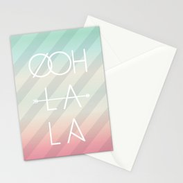 Ooh La La Stationery Cards