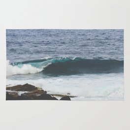 Lanzarote waves Rug