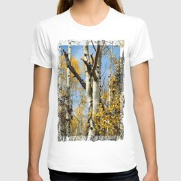 Aspens Tall and Gold T-shirt