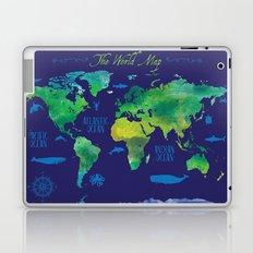 Nautical Map Laptop & iPad Skin