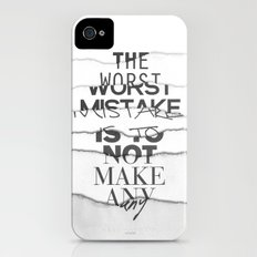The Worst Mistake iPhone (4, 4s) Slim Case