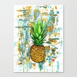 Pineapple Dreams Canvas Print