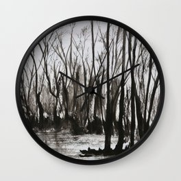 Brent skog - Gerlinde Streit Wall Clock
