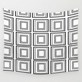 The Minimalist: Squared Wall Tapestry