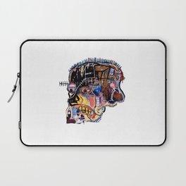 Skull II Homage to Basquiat Laptop Sleeve