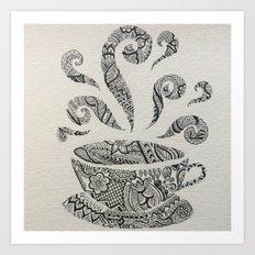 But first, Tea. Art Print