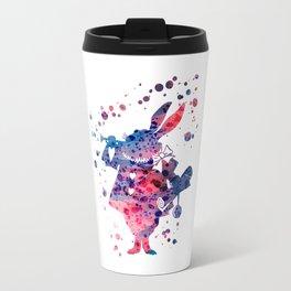 White Rabbit Alice in Wonderland Disneys Travel Mug