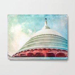 Buddha House Metal Print
