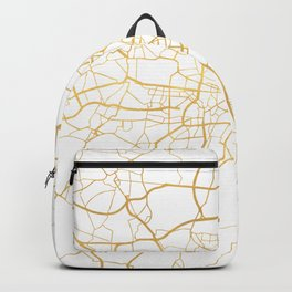 MUNICH GERMANY CITY STREET MAP ART Backpack