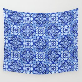 For the Love of Blue - Pattern 372 Wall Tapestry