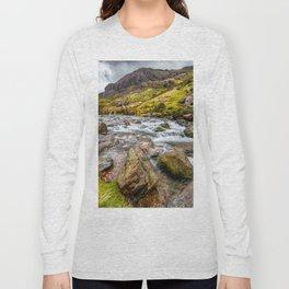 Llanberis Pass Snowdonia Long Sleeve T-shirt