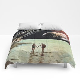 Set Sail for the Stars Comforters