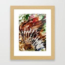Wax depicts Autumn Framed Art Print