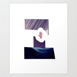 Alone at Night Art Print