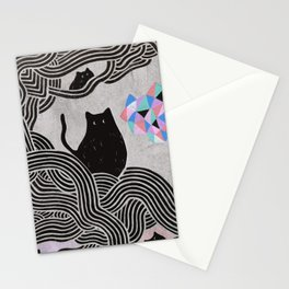 Collage Cats II Stationery Cards