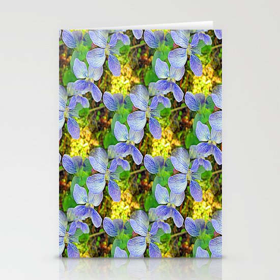 Floral Cascade Stationery Cards
