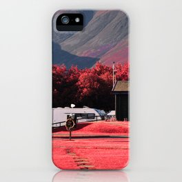 Red Mountains iPhone Case